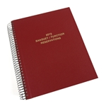Standard and Custom Reservation Books