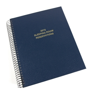 Custom Sleeping Room Reservation Book