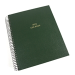 Custom Restaurant Managers Log Book
