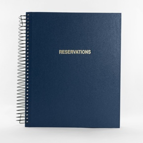 Blue Reservation Book Cover