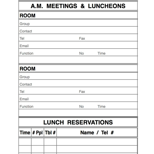 reservation sheet template muco tadkanews co